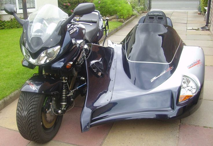 Suzuki Bandit Motorcycle S With Sidecars Pinterest