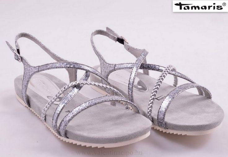 Tamaris elegáns és divatos női szandál (36-tól 41-es méretig).   http://valentinacipo.hu/tamaris/noi/metal/szandal/140314840  #Tamaris #Női_szandál #divatos_szandál #Valentina_cipőboltok