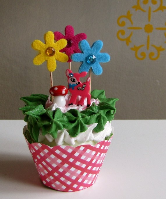 Fake cupcake, cute craft