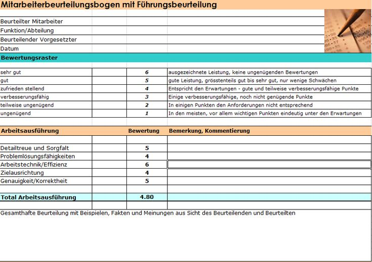 Exceltools aus  978-3-9522958-2-3 Müller, Robert Systematische Mitarbeiterbeurteilungen und Zielvereinbarungen