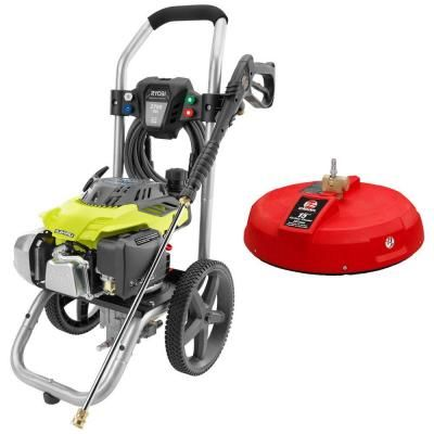 Ryobi Subaru EA175 2,700 psi 2.3 GPM Gas Pressure Washer with 15 in. Surface Cleaner $378.97 #TopSale