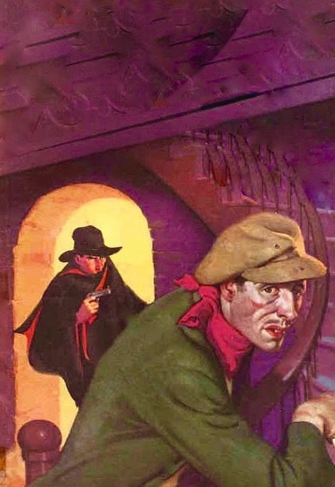 THE SHADOW PULP MAGAZINE COVER CYRO
