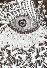 581 Zentangle Eye