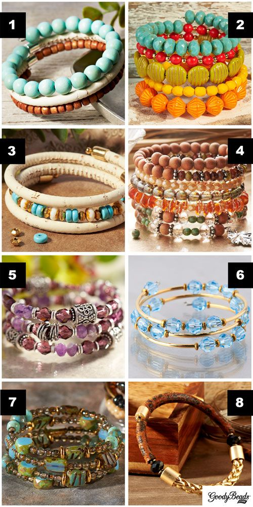 GoodyBeads | Blog: Memory Wire Inspired Jewelry Examples