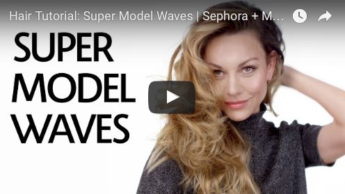 Mane Addicts How to Get '90s Supermodel Waves with Sephora and Sunnie Brook - Mane Addicts