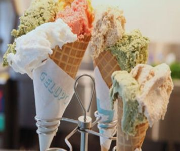 The Best Ice Cream in London - http://www.gelupo.com. I recommend the Ricotta and Sour Cherries and FRESH MINT STRACCIATELLA they are to die for.