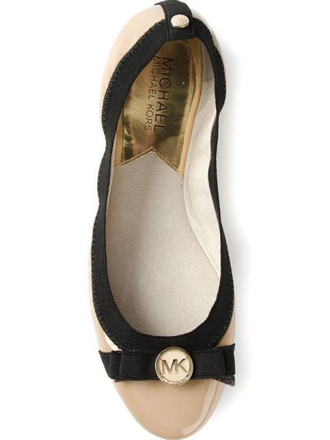 Michael Michael Kors Bow Detail Ballerinas