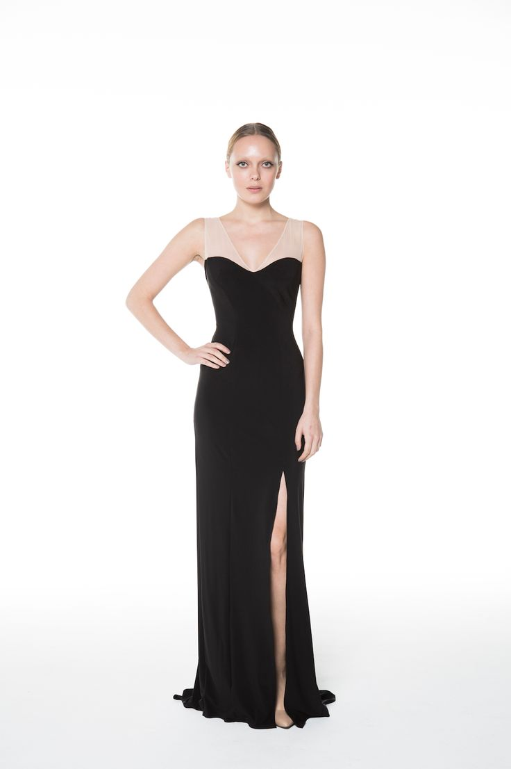 The Mesh Me Gown - So comfortable and chic! Made in Canada
