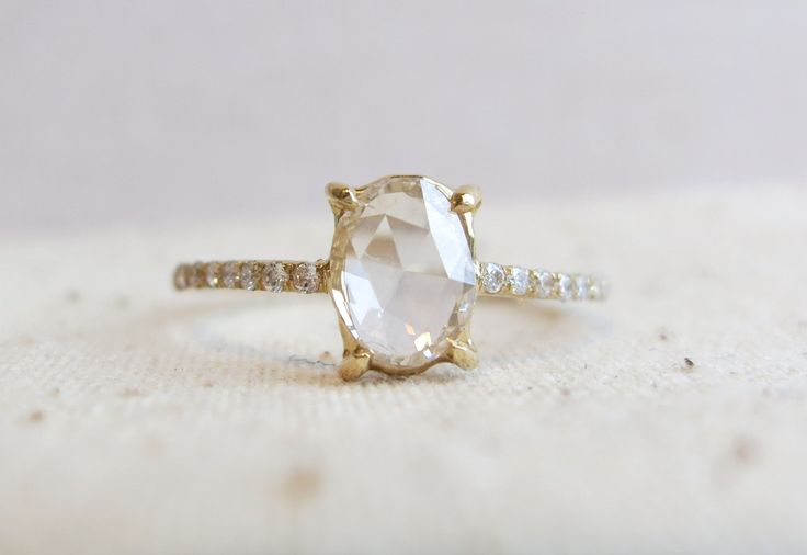 Best 25+ Pave Ring Ideas On Pinterest