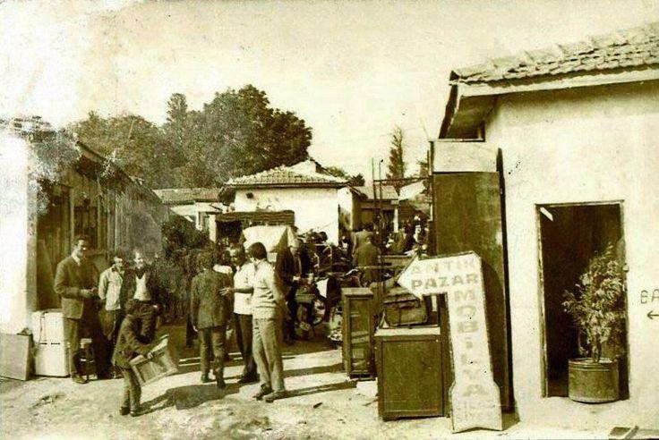 Bit Pazarı (Topkapı, 1960lar) #istanlook
