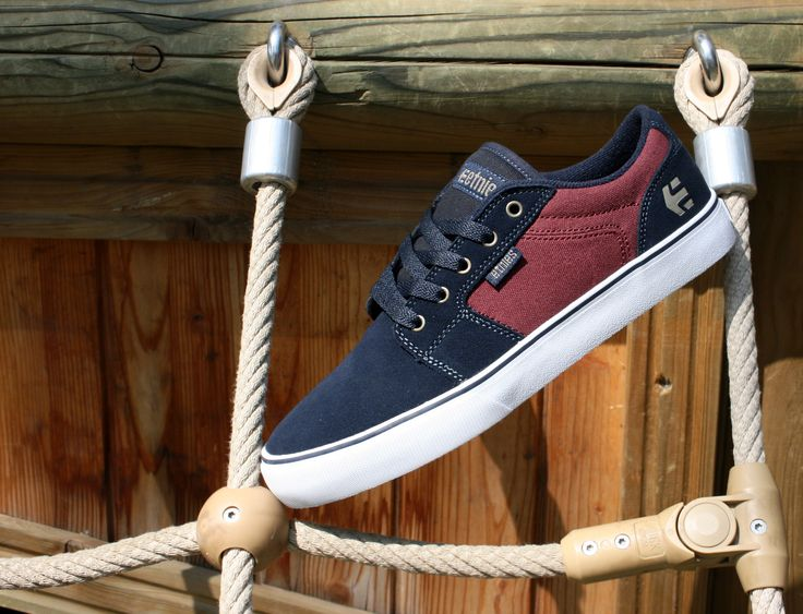 Etnies Shoes,Etnies Barge LS Navy/Red/White