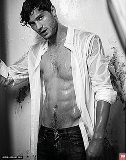 Jamie Dornan he's definitely got the body for it!!