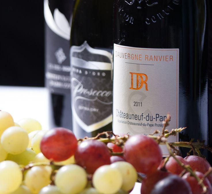 Česká vína z Moravy, vína z Francie a Itálie #ukastanubranik http://www.ukastanu.cz/branik/napoje