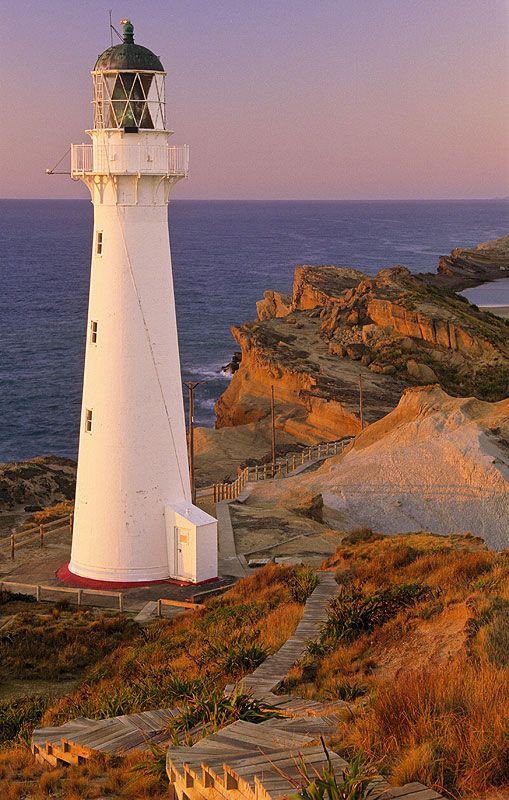 Castle point Lighthouse.: Photo by Photographer Ian Cameron - photo.net