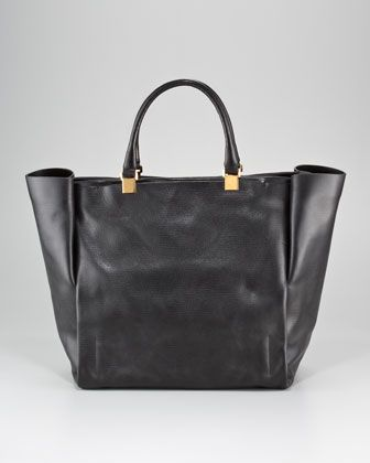 nice work bag - Moon River Leather Tote by Lanvin