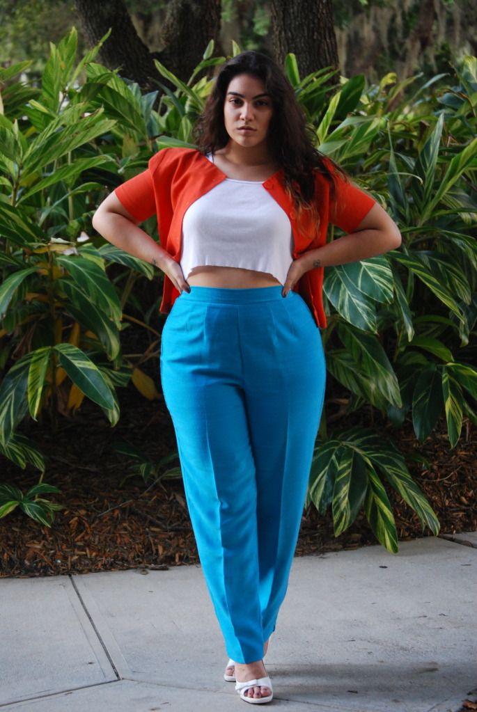 Nadia Aboulhosn. Love those pants.