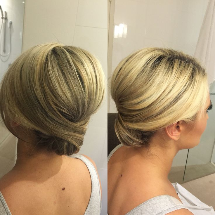 Bridal / bridesmaid hairstyle. Hair by Zoe Karlis info@zoekarlismakeup.com.au