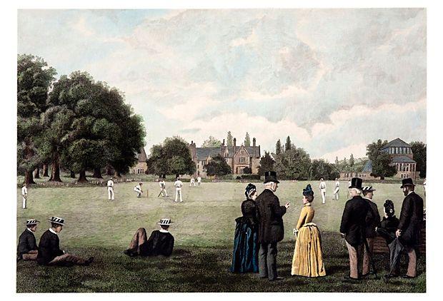 Cricket Match at Rugby School, 1889 on OneKingsLane.com