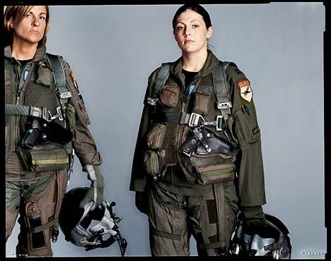 New York Times female soldiers  [ pilots. I can't recall if they fly E-2 or F-18s ]