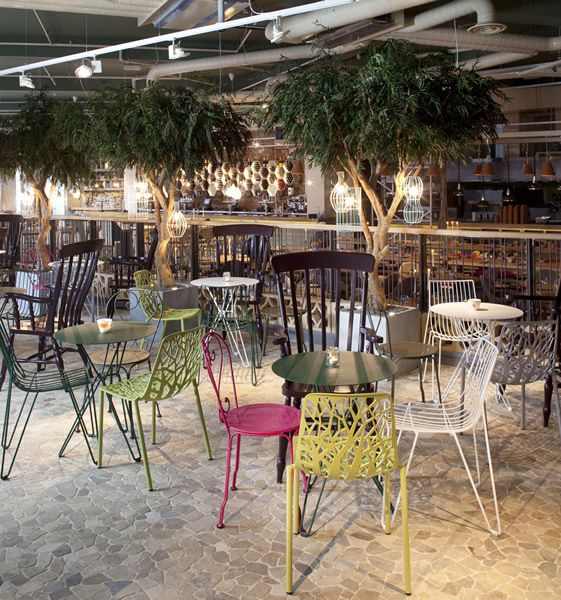 thefolly3 » Botanical Themed Interior Design: The Folly Restaurant in London post photo