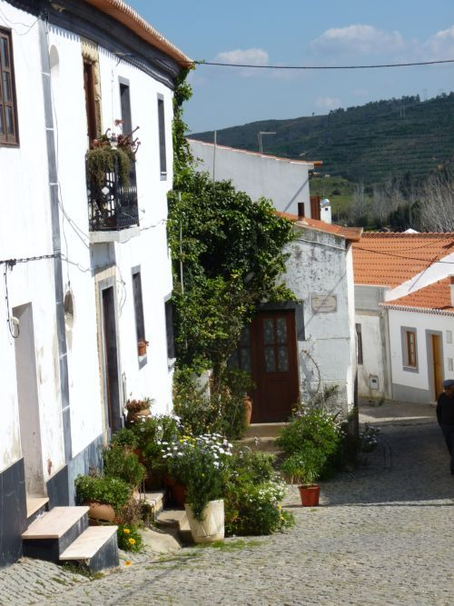 A peek up one of the old streets of Aljezur in the Western Algarve