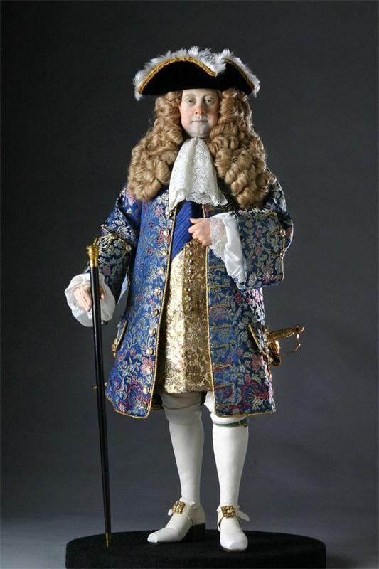 Куклы Джорджа Стюарта: исторические персонажи Англии (мужские образы)