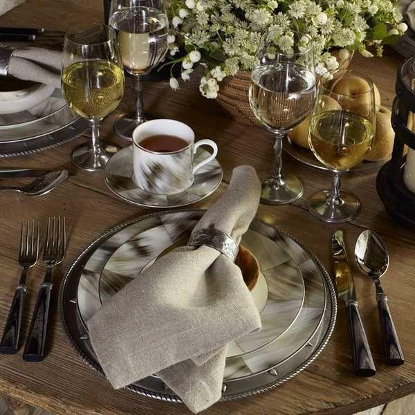 Ralph Lauren Table Linens Part - 49: Alpine Country Home Decor Ideas, Rustic Elegance From Ralph Lauren Home