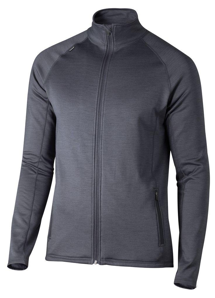 Functional Zip Jacket Men Lämmin toiminnallinen pusero pehmeällä harjatulla sisäpinnalla. • Hengittävä toiminnallinen materiaali • Vetoketjulliset sivutaskut  Koko: XS-XXL Materiaali: 96% polyesteri, 4% elastaani