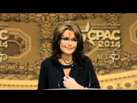 • Sarah Palin • CPAC • 2014 • WHAT A SPEECH!!!!! <3 :D WHAT A LADY!!!!! <3 :D
