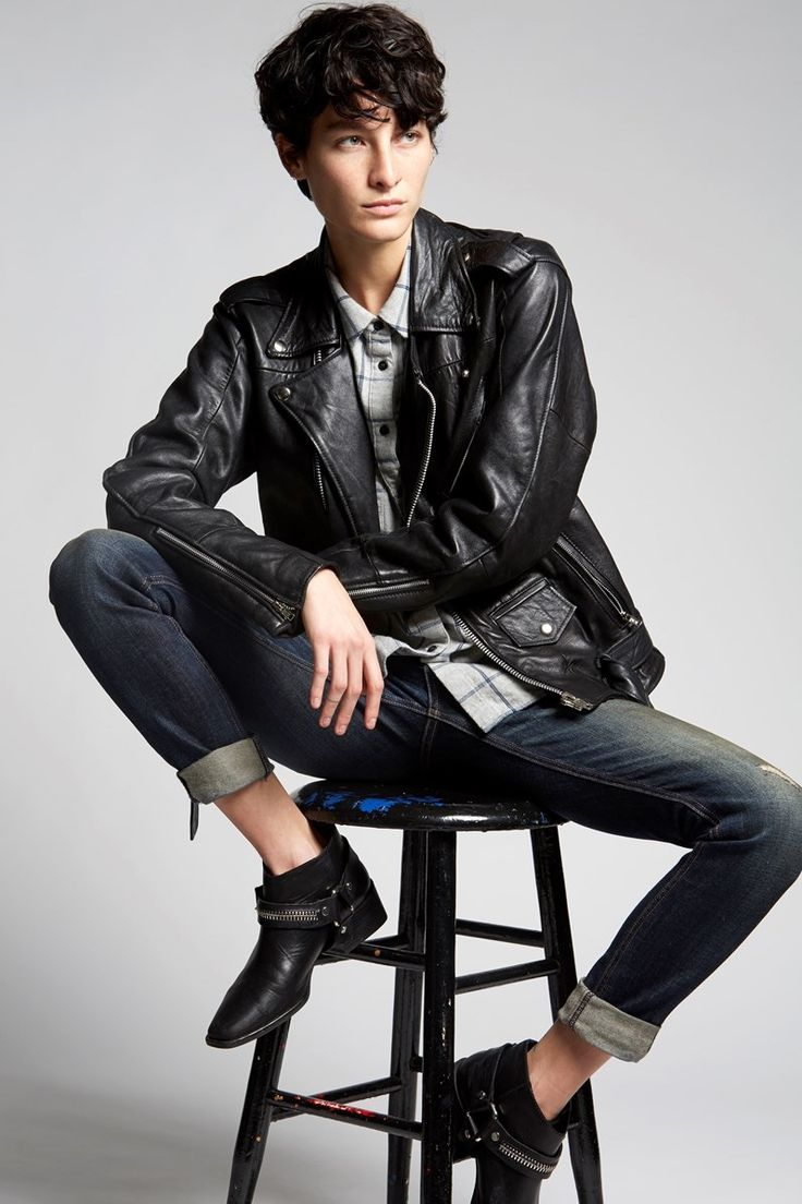 how to look androgynous female
