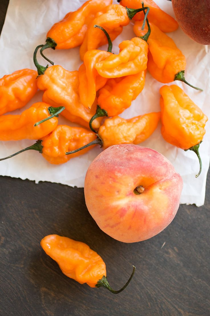 Caribbean Jerk Peach Hot Sauce – Recipe