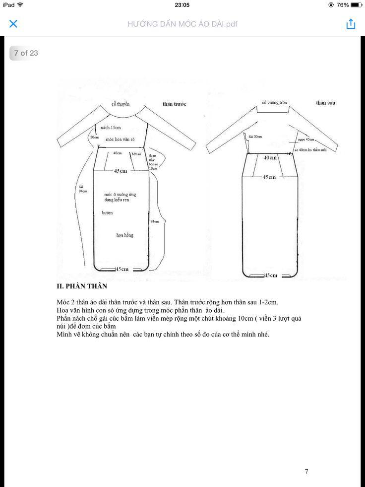 Hướng dẫn móc áo dài (tr7)