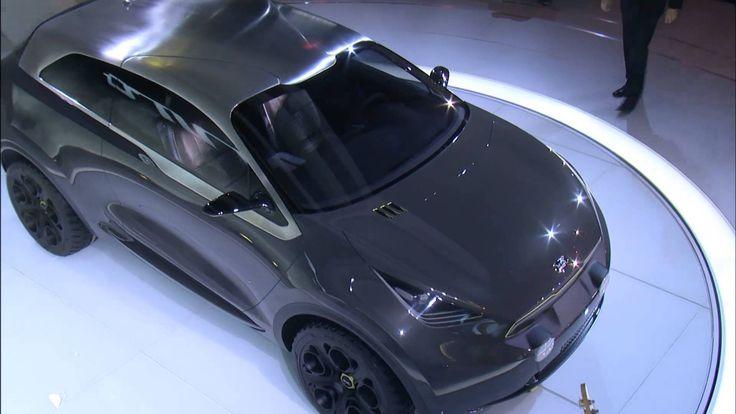 Kia Niro Concept at Chicago Auto Show 2014