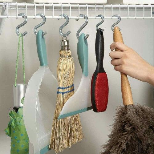 Great idea to get the most space out of your closet!