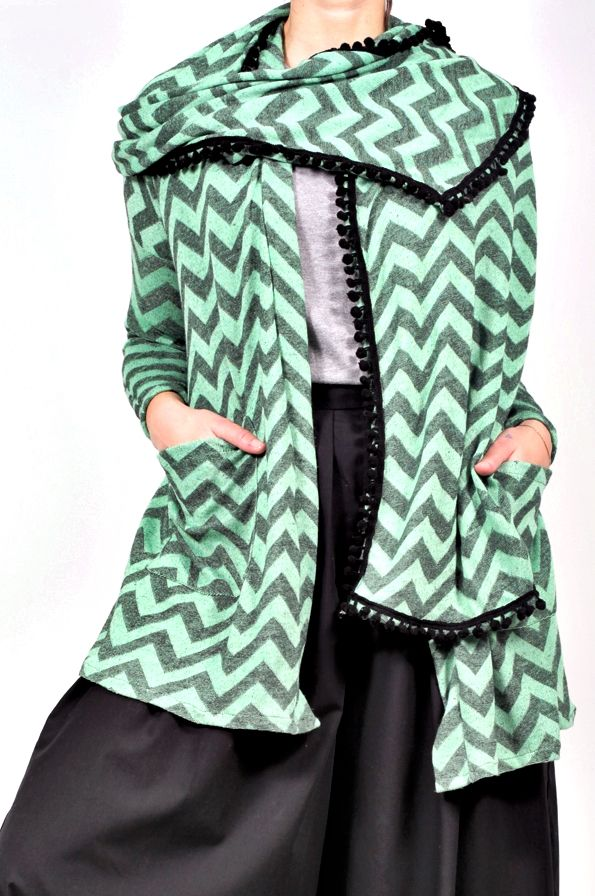 Cardigan Pardon Chevron
