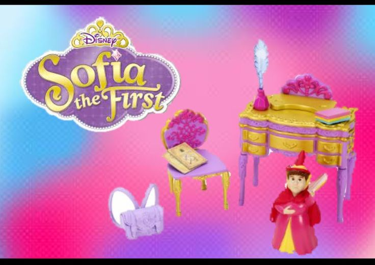 DISNEY SOFIA royal classroom unboxing
