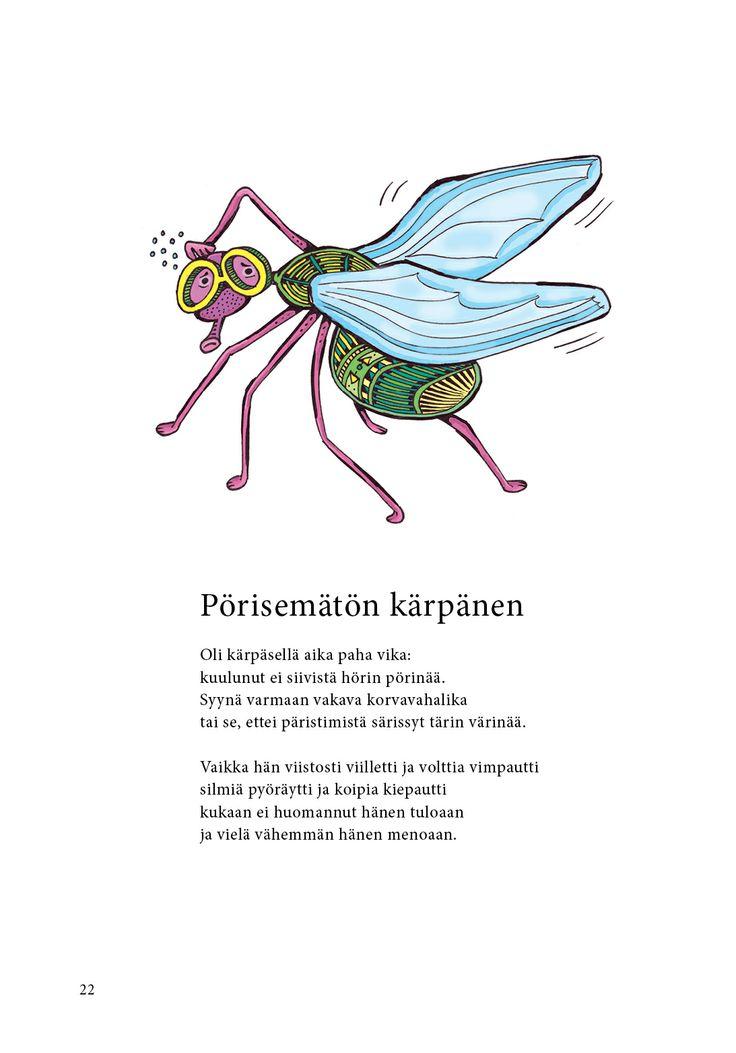 Pörisemätön kärpänen (Jari Tammi: Nakkikirja, Pikku-idis 2013)