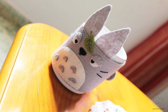 PDF pattern and instructions cozy cup of totoro por LunaticparkEtsy, €3.20
