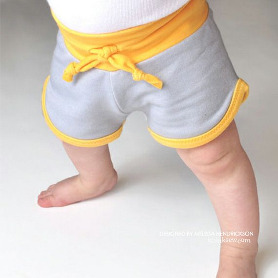 Baby Retro Shorts PDF Pattern