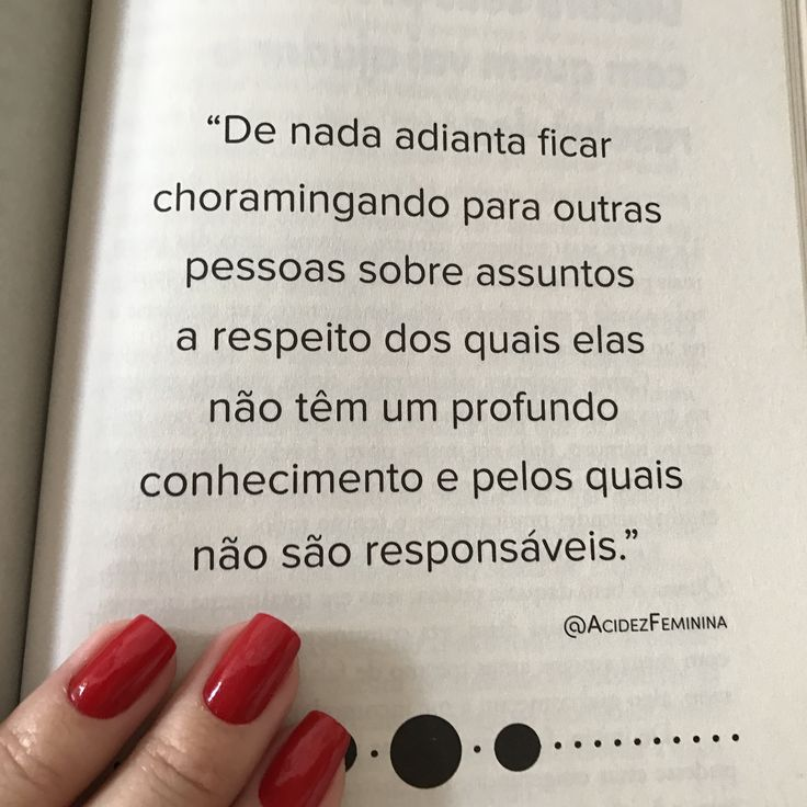 Página do livro Manual da Mulher Bem Resolvida da Taty Ferreira - Acidez Feminina