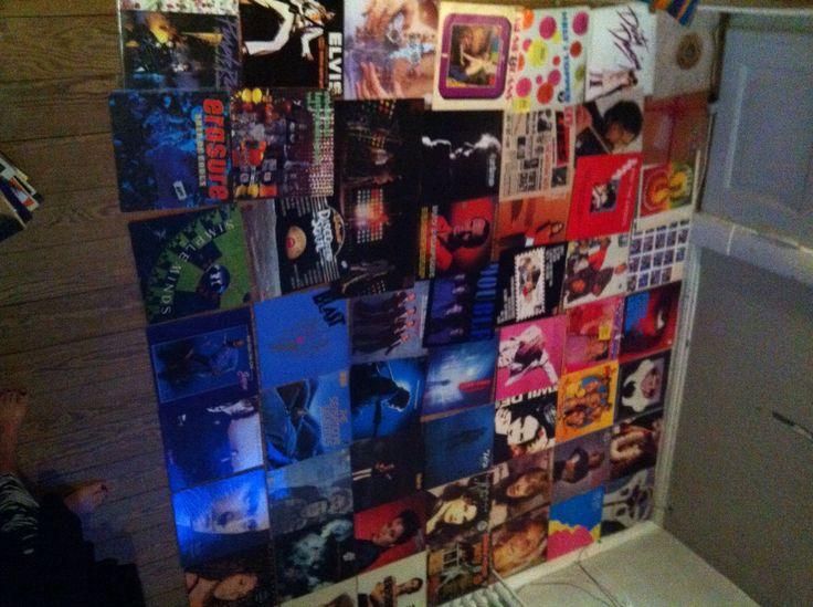 Oplæg til LPcover væg