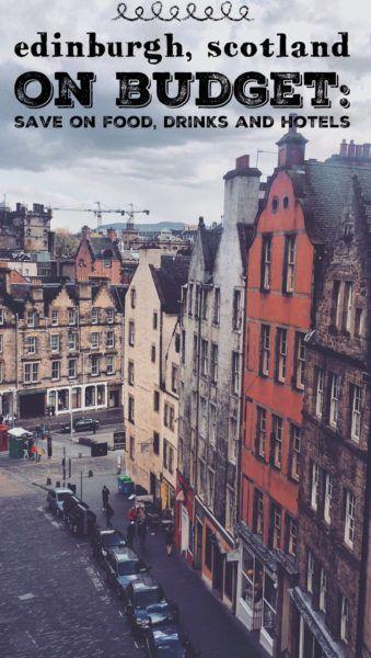 Edinburgh on a budget: save on hotels in Edinburgh