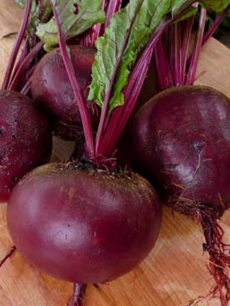 """Heirloom Beet Seeds - """"Ruby Queen Beet Seed"""" Can be planted from early spring or late summer"""
