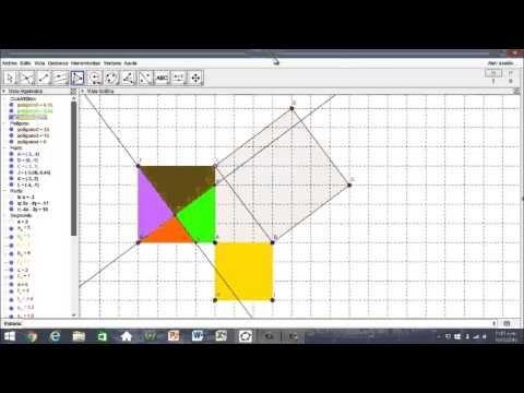 Demonstração do teorema de Pitágoras