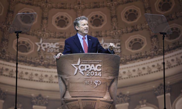 Rand Paul wins 2014 CPAC straw poll