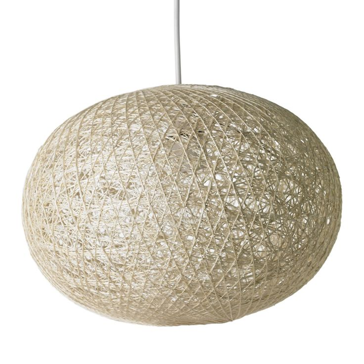 Wilko String Oval Ball Pendant Shade