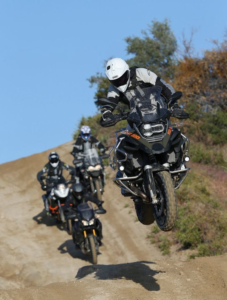 Thats A Big Bike To Be Launching But Too Cool Adventure Riders Want More