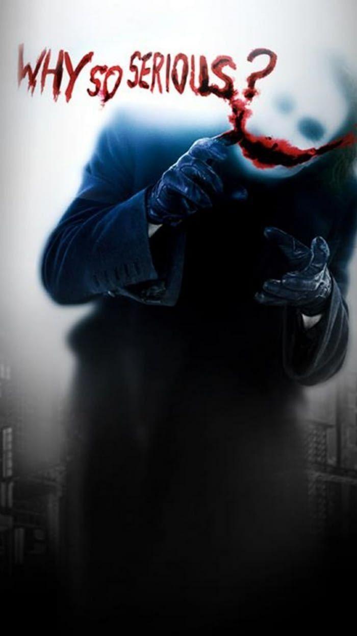 Why So Serious Black Hd Wallpaper Dark Knight Wallpaper Joker Wallpapers