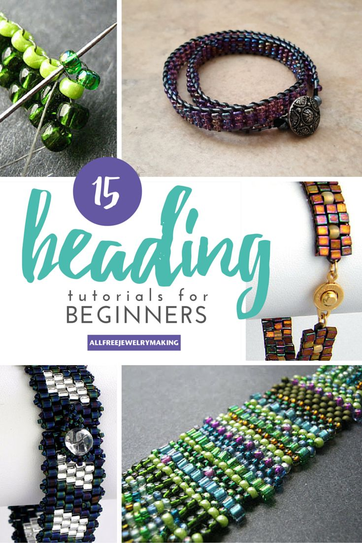 beaded tutorials needles pinterest both patterns first cantanhede best through beads you jewelry bead images need a thread start on ll to seed pedraria
