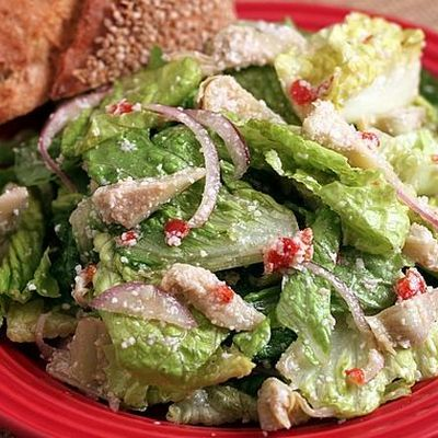 Everyday Italian Tossed Salad - This looks identical to pasta house salad...hopefully this is it!!!!!!!!!!!!